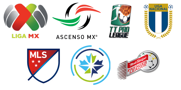 CONCACAF League Logos